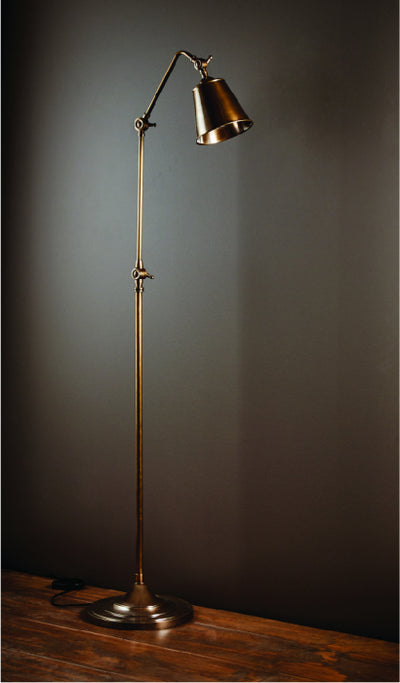 Miranda Floor Lamp Antique Brass
