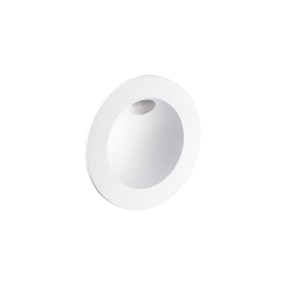 Ovo White Wall Light