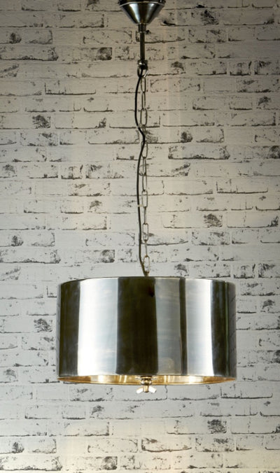 Park Avenue Hanging Lamp in Silver