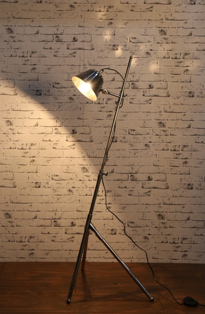 Pearl Floor Lamp Antique Silver