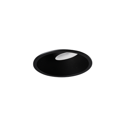 Shift In Textured Black/White 2700K Downlight