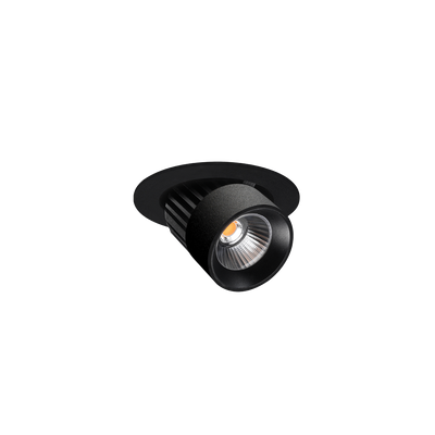 Switch 80mm Textured Black 4000K Downlight