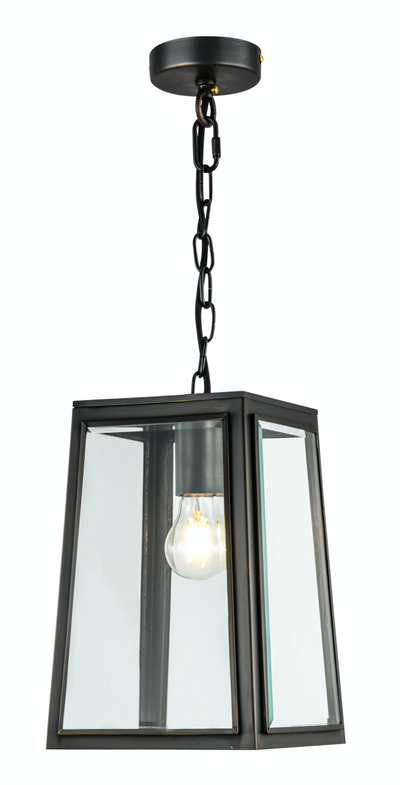 Preston Small Lantern Regency Bronze