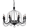 Candice Large Black Candelabra
