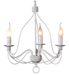 Candice Small French White Candelabra