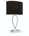 Campbell Black Touch Lamp