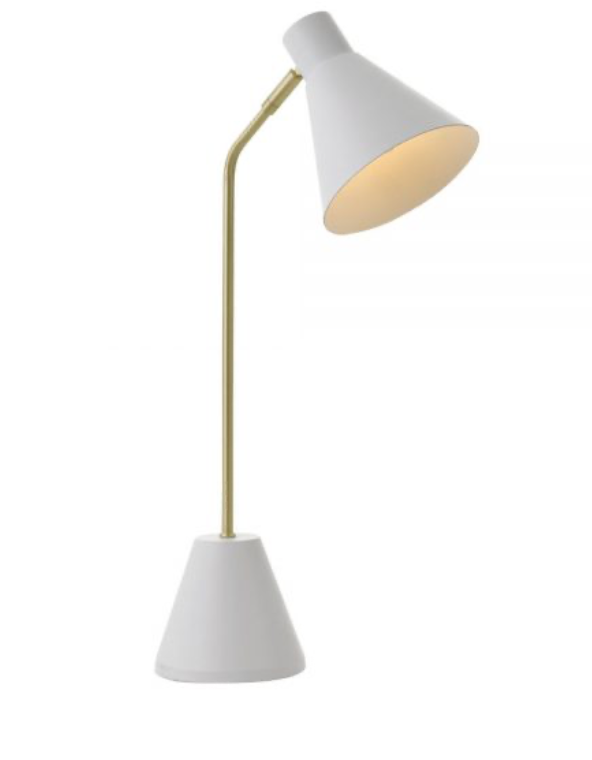 Ambia White Table Lamp