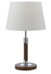 Belmore Walnut Table Lamp