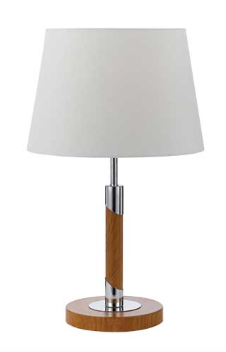 Belmore Teak Table Lamp