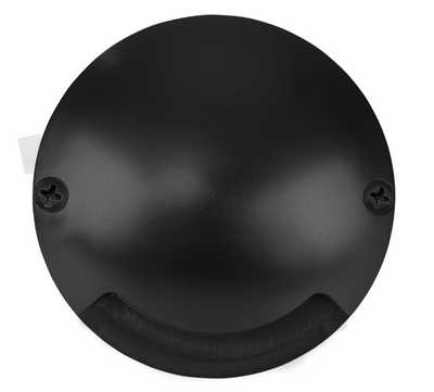 Dome Black Aluminium One Way LED Deck Lights