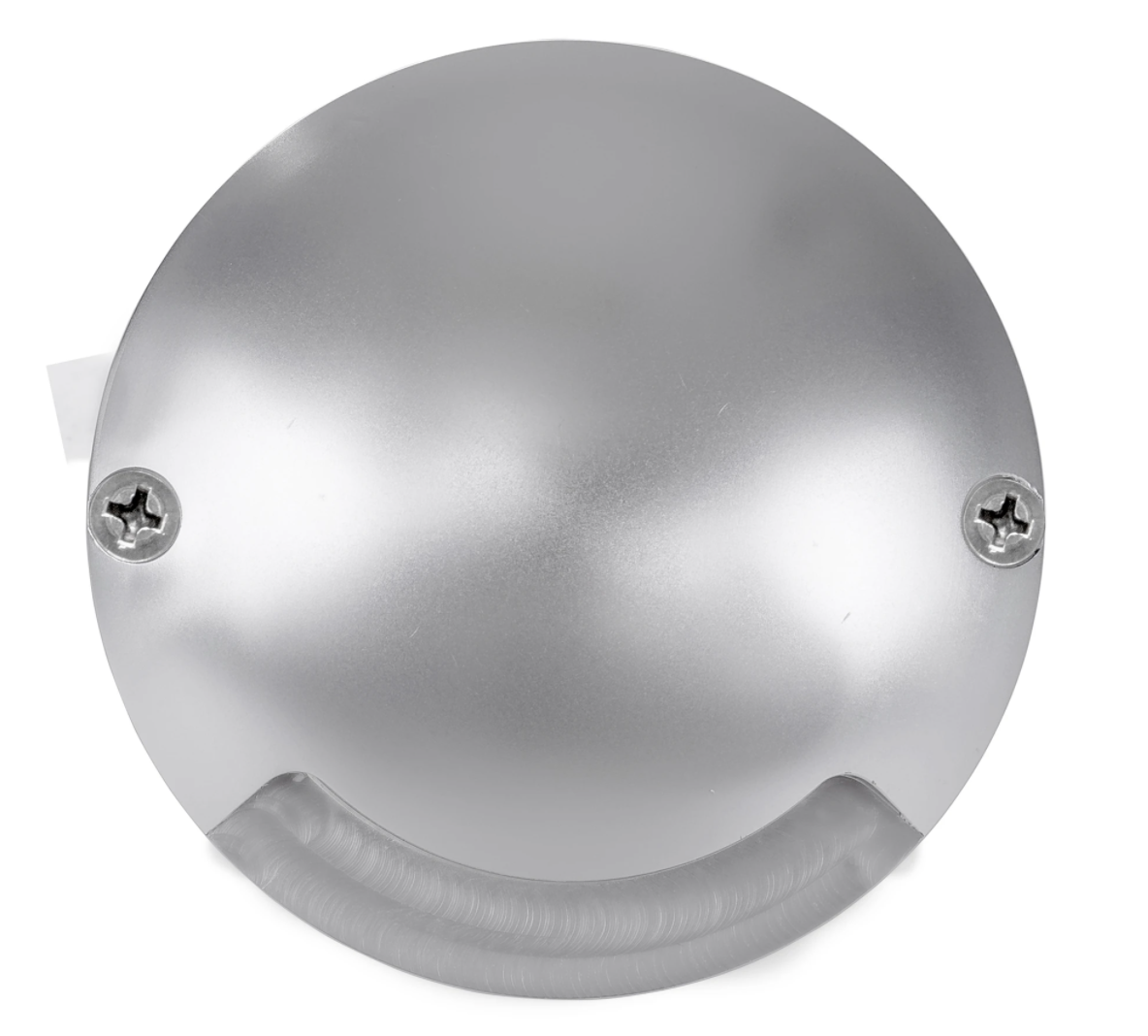 Dome Silver Aluminium LED One Way Deck Lights