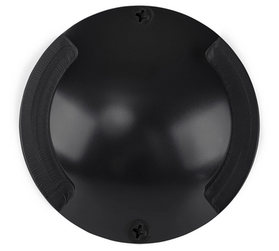 Dome Black Aluminium Two Way LED Deck Lights