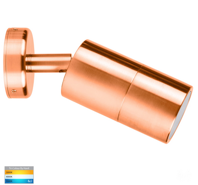 Tivah Solid Copper TRI Colour Single Adjustable Wall Spot Light