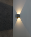 Marc White Wall Light