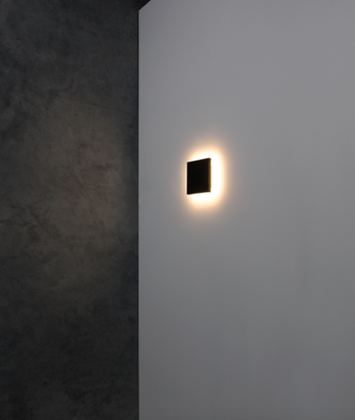 Paragon Black Wall Light