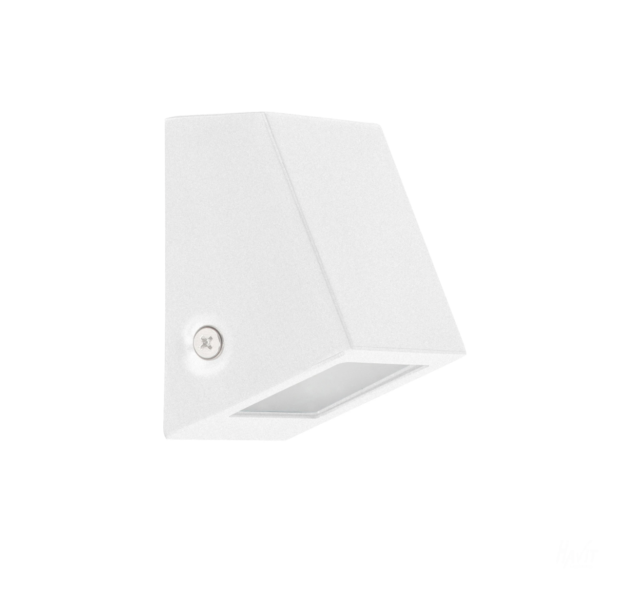 Taper White Wedge Step Light