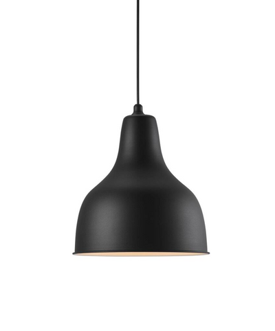 Ames Black Pendant