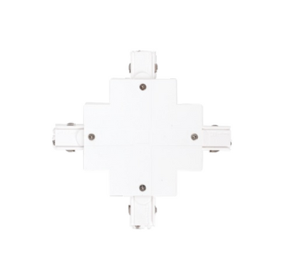 MXR 3C Recessed Cross Connector White