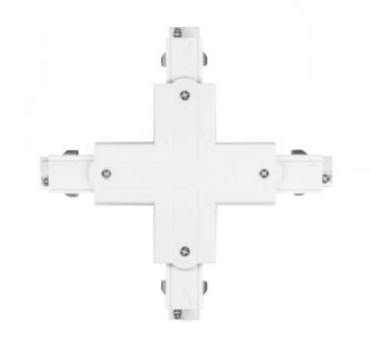 MX 3C Cross Connector White