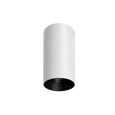 Titanium Textured White/Black Surface Mounted Downlight