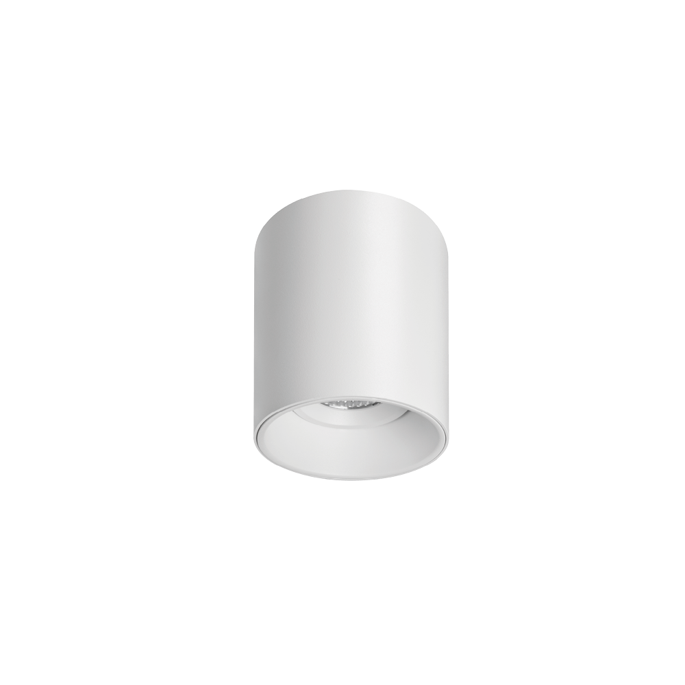 Titanium Textured White Surface Mounted Downlight