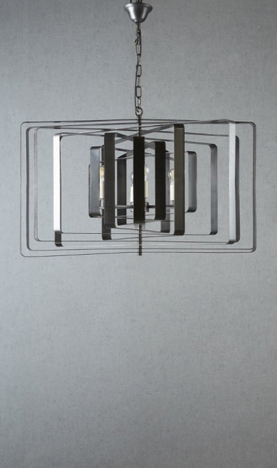 Toorak Ceiling Light in Black Brass