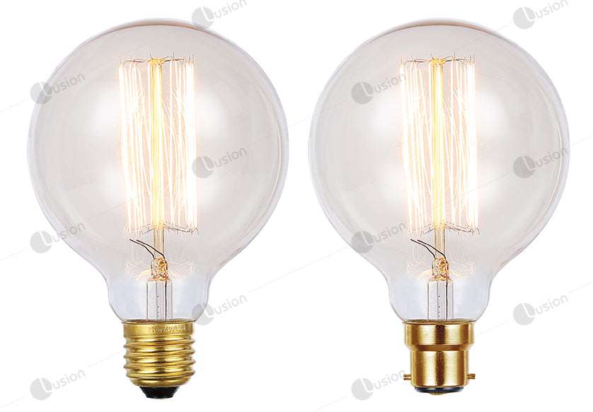 Vintage Spherical G95 25W Filament Lamp