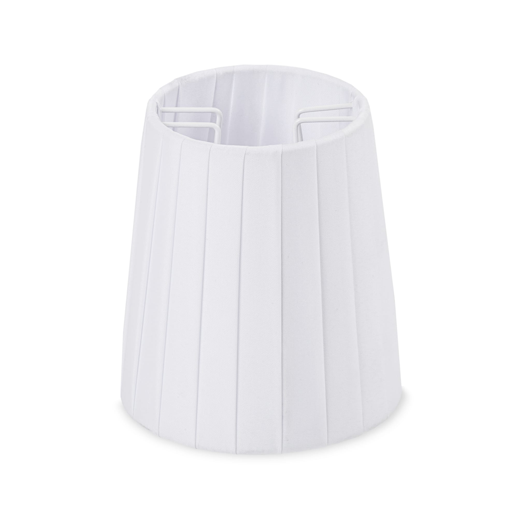White Metal Polyester Lampshade for White Monkey Lamp