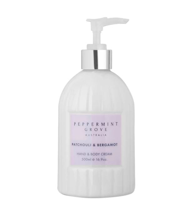 Patchouli & Bergamot Hand and Body Cream