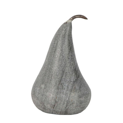 Marble Pear Large Grey