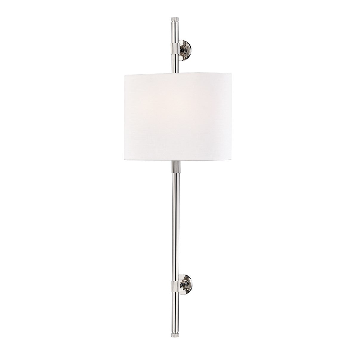 Bowery Polished Nickel Wall Sconce