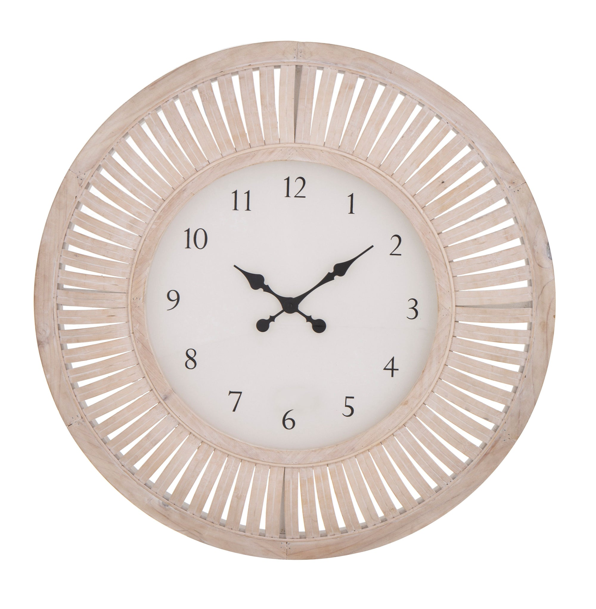 Macedon White Wall Clock