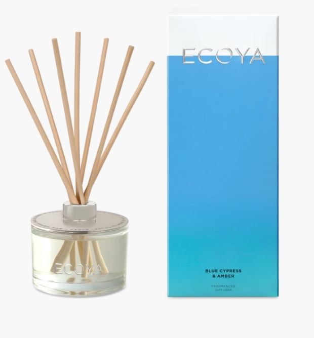 Blue Cypress & Amber Fragranced Diffuser