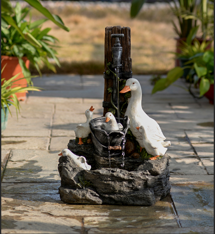 Duckling Water Feature