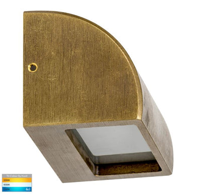 Ridge Solid Bronze LED Step Light