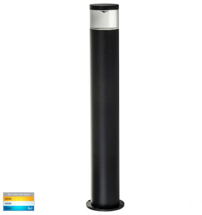 Highlite Black TRI Colour LED Bollard Light