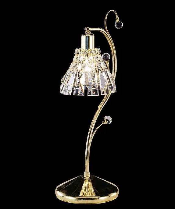 Mornington Crystal Gold Table Lamp