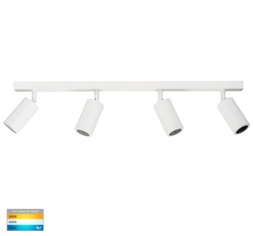 Tivah White 4 Light TRI Colour LED Bar Lights