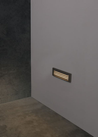 Link White Grill Face Wall Light