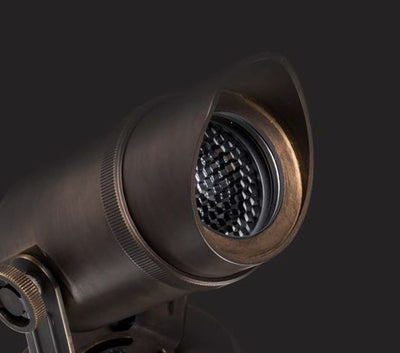 Kepler Bronze Exterior Adjustable Spot Light
