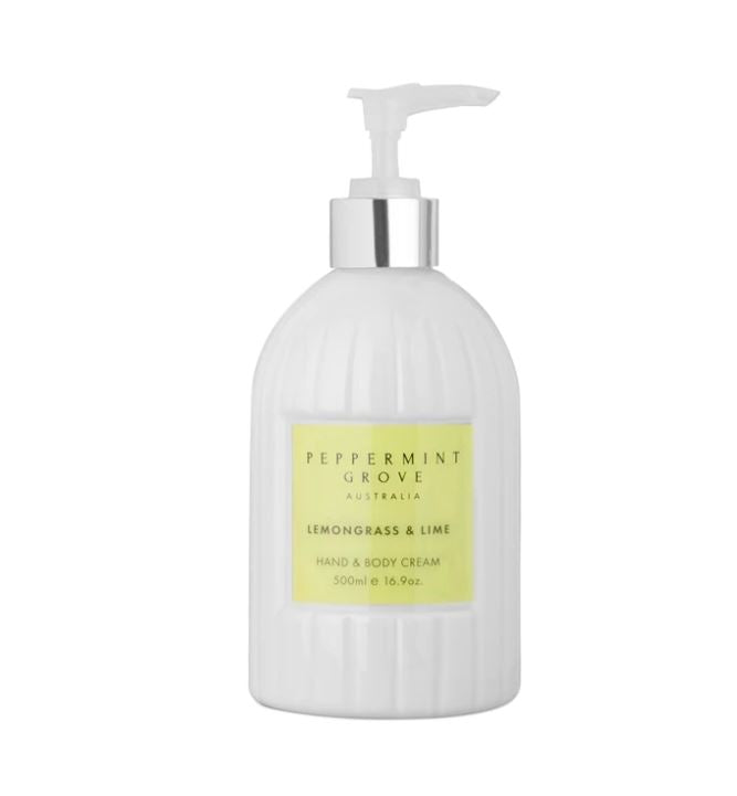Lemongrass & Lime Hand and Body Cream