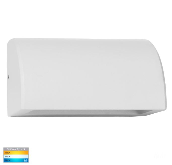 Ridge Aluminium White LED Step Light