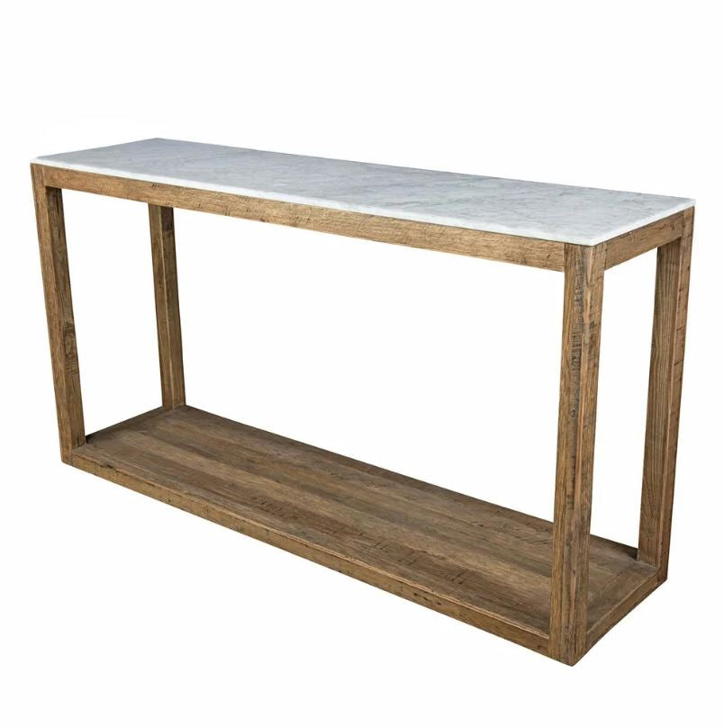Denver Natural Marble Console