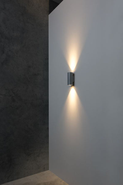 Onyx Black Wall Light