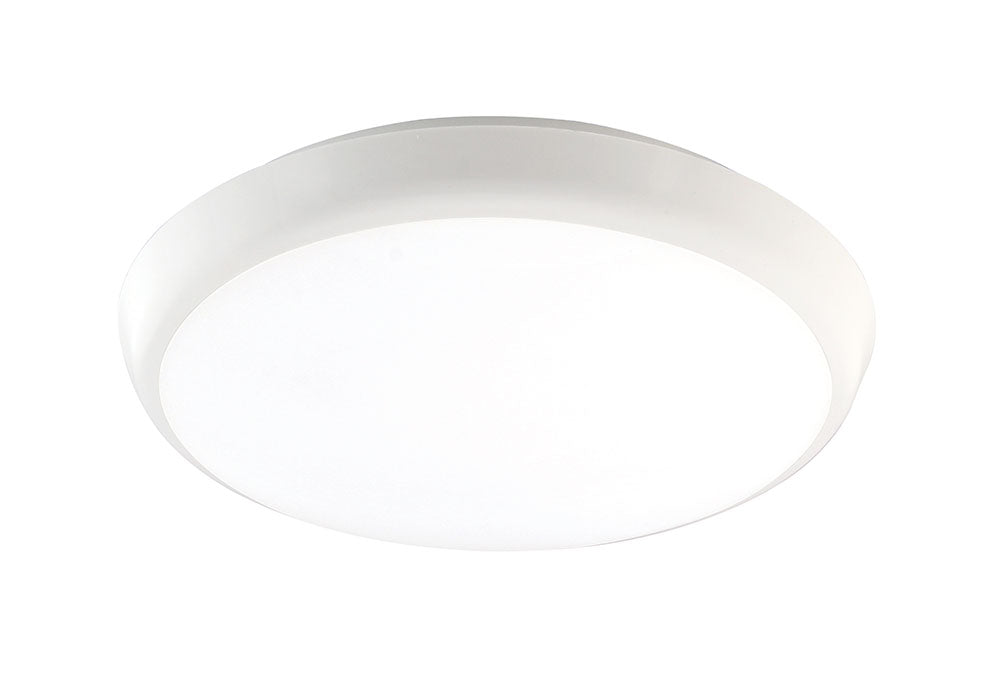 Cosmos 15W Tri-Colour Surface Mount Oyster Ceiling Light