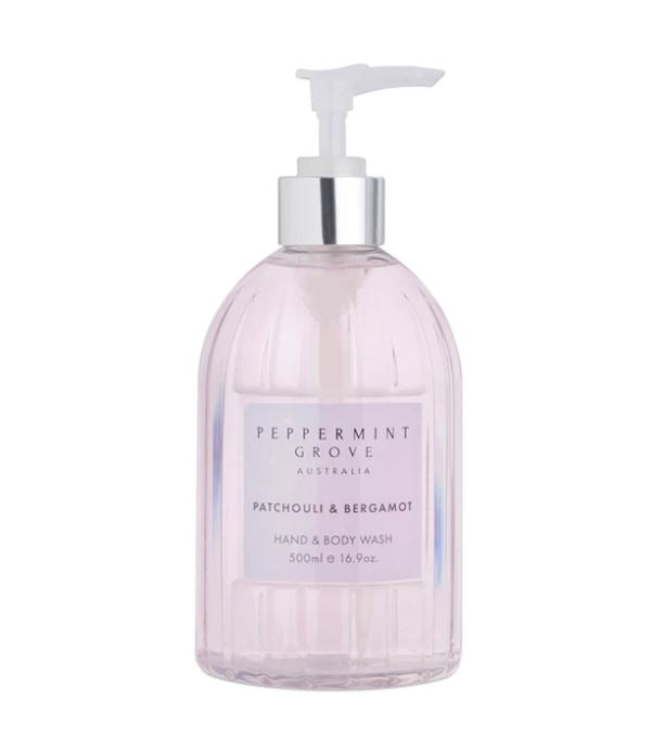 Patchouli & Bergamot Hand and Body Wash