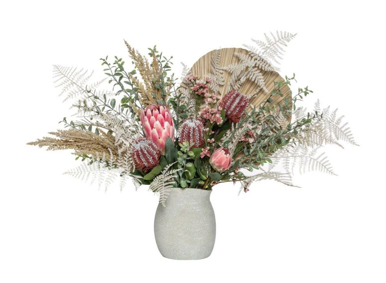 Native Palm Pink Mix Mahlia Vase
