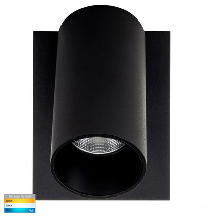 Revo Black Single Adjustable Wall Light