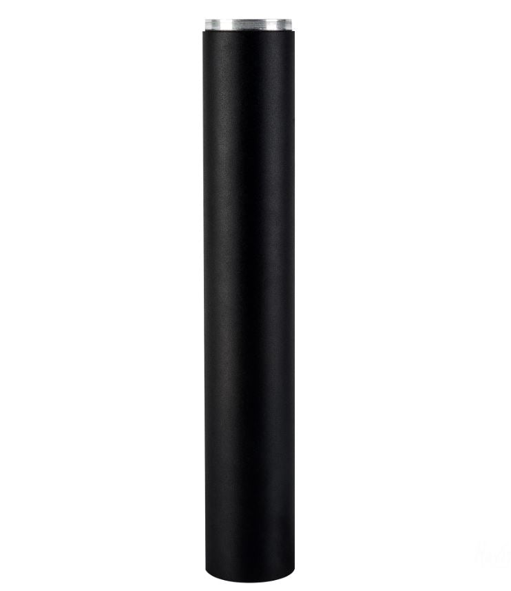 Black Bollard Extension