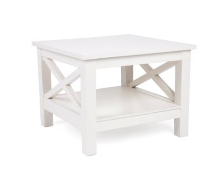 Cross Hamptons White Side Table